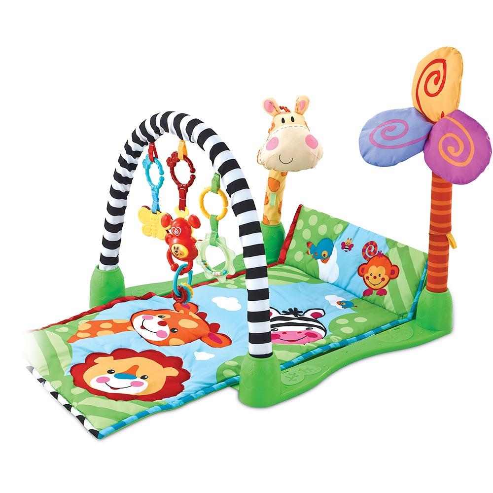 Развивающй коврик с игрушками Funkids 8502