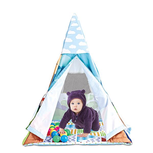 """Развивающий коврик Funkids """"Tent-With-Me Mat"""""""